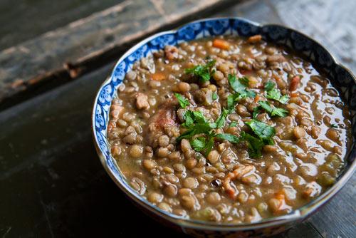 Mushroom and Lentil Stew