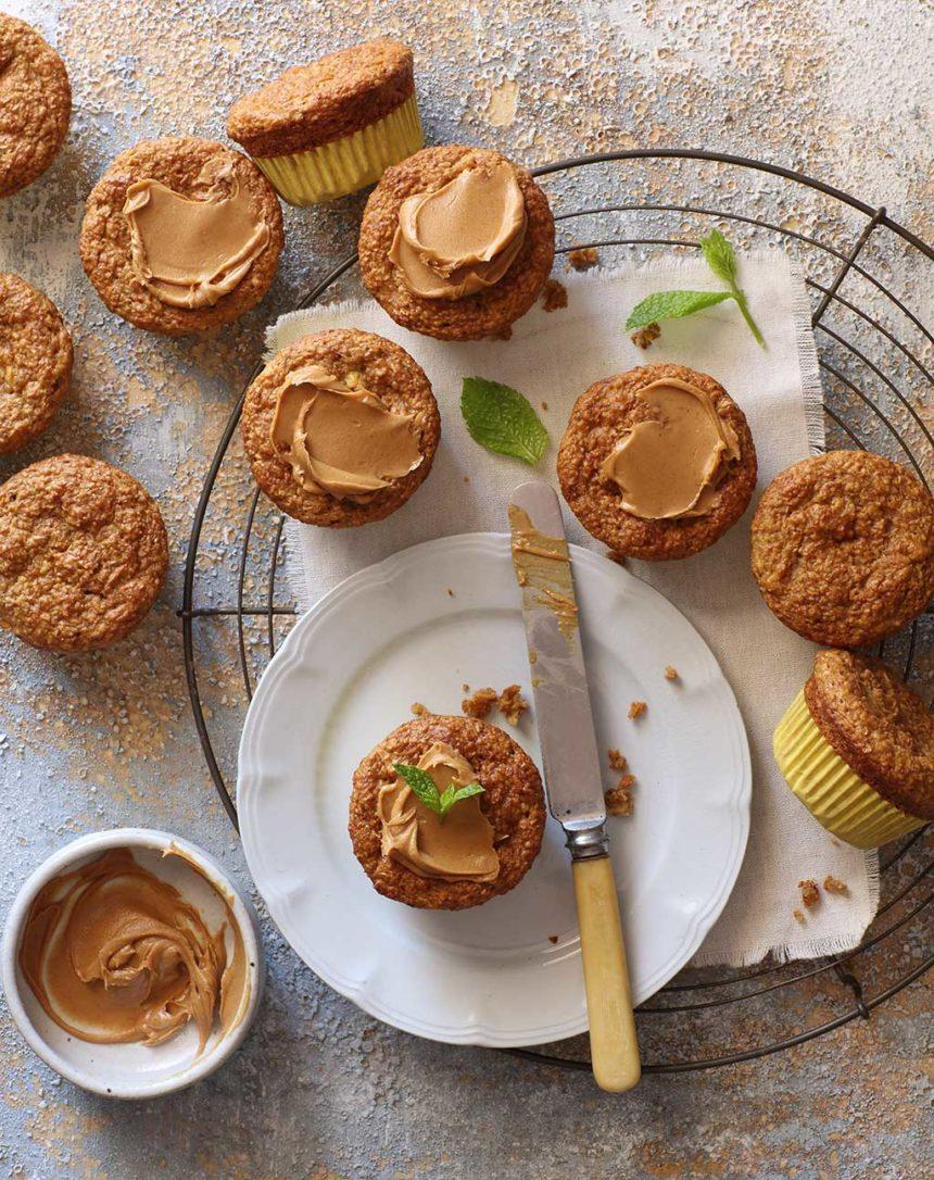 Banana & Peanut Butter Muffins