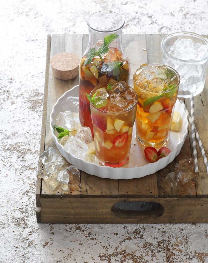 Rooibos and Berry Ice Tea